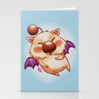 Moogle Fan Art Doodle Stationery Cards