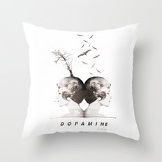 Dopamine | Collage Throw Pillow