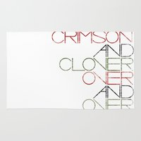 Crimson And Clover Over … Rug