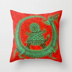 aghira jade Throw Pillow