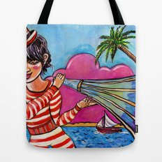 The Sound of Paradise Tote Bag