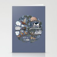 Born To Roam At Christma… Stationery Cards