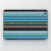 Together Again - tribal geometrics iPad Case
