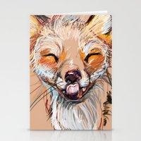 Happy Fox Stationery Cards