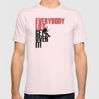 Everybody Lies Mens Fitted Tee Light Pink SMALL