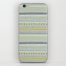 Teal & Green Pattern iPhone & iPod Skin