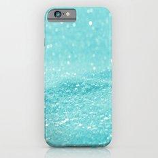 Glitter Turquoise Slim Case iPhone 6s