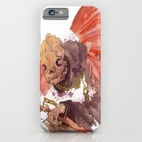 iPhone & iPod Case featuring Grandmother Death II by JoJo Seames