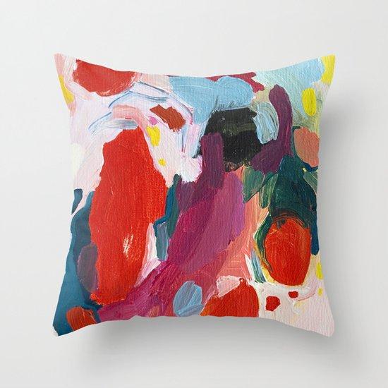 Color Study No. 1 Throw Pillow