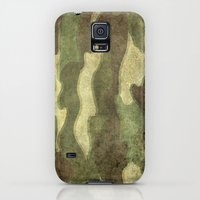 Galaxy S5 Cases featuring Dirty Camo with a twist by LonestarDesigns2020 - Flags Designs +