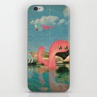 lago animato iPhone & iPod Skin