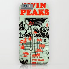 Twin Peaks Map iPhone 6 Slim Case