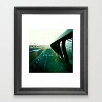 Roadway Framed Art Print