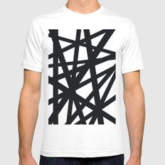 Complex   SMALL White Mens Fitted Tee