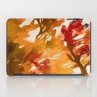 Morning Blossoms 2 - Red… iPad Case