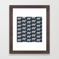 Unicorns  Framed Art Print