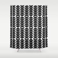 Tribal Pattern Shower Curtain