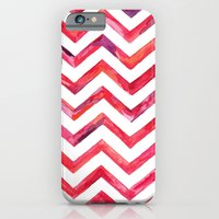 iPhone & iPod Case featuring Chevronica by M. Everitt