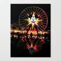 Mickey Again Canvas Print