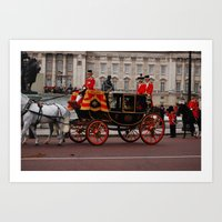 The Royal Carriage 10 Art Print