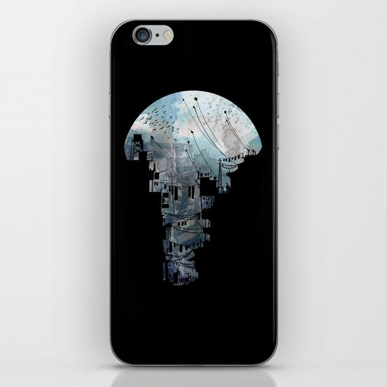 Secret Streets II iPhone & iPod Skin