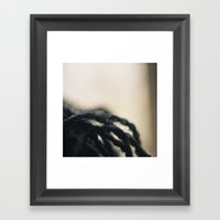 Fibers Framed Art Print