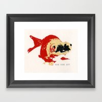 Gold Fish 2 Framed Art Print