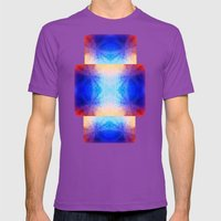 Mirror Mens Fitted Tee Ultraviolet SMALL