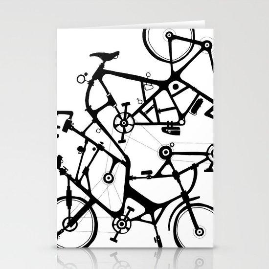 bike tuneup Stationery Card