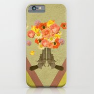In My World, Flowers Com… iPhone 6 Slim Case