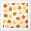 Do you love biscuits? Art Print