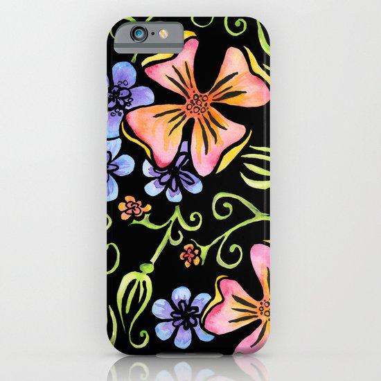 Electric Flora iPhone & iPod Case
