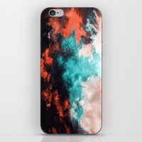 Painted Clouds VII (Phoenix) iPhone & iPod Skin