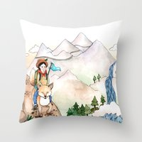 Believe Impossible Thing… Throw Pillow
