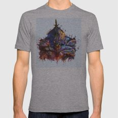 Evangelion Mens Fitted Tee Athletic Grey SMALL