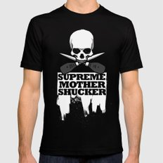 Supreme Mother Shucker 2014  Mens Fitted Tee Black SMALL