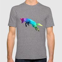 Glass Animal - Flying Fox Mens Fitted Tee Tri-Grey SMALL