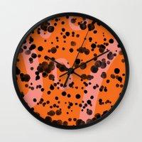 splashcrashsplatter Wall Clock