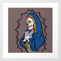 The Ojeros Ticked Virgin… Art Print