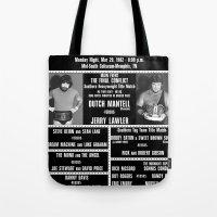 #16-B Memphis Wrestling Window Card Tote Bag
