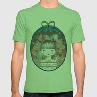 Silvia Calles´closet Mens Fitted Tee Grass SMALL