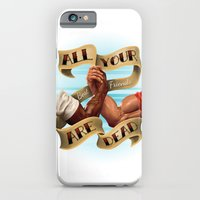 iPhone & iPod Case featuring All Your Best Friends Are Dead by Steve Wierth