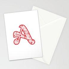 Scarlet A - Version 2 Stationery Cards