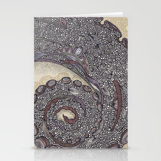 Tentacula Stationery Card