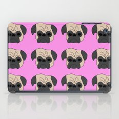 Pugs on Pink iPad Case