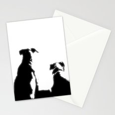 even dogs fall in love Stationery Cards
