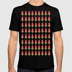 Watermelon popsicle Mens Fitted Tee Black SMALL