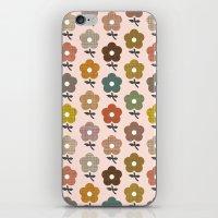 Happy Little Flower iPhone & iPod Skin