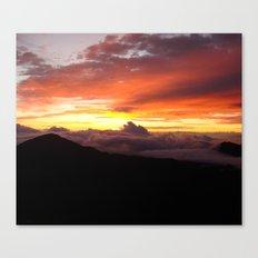 Sunrise - Maui Canvas Print