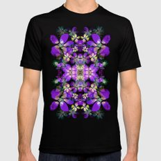 Light show Black SMALL Mens Fitted Tee